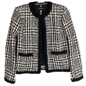 The Kooples Houndstooth Confetti Tweed Jacket M